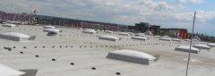 Flachdach mit Luken gewartet von Ihrem Bausachverständigen für Flachdach- & Bauwerksabdichtung Kuno Haedler